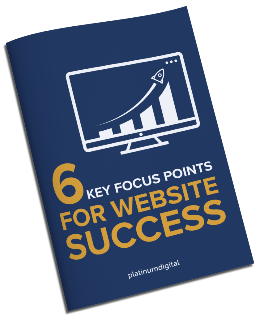 6 Key Focus Points For Website Success eBook