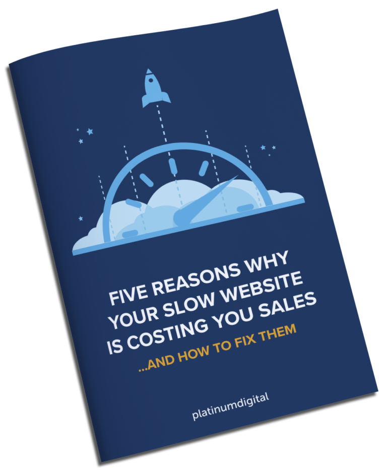 5 Reasons Why Your Slow Website Is Costing You Sales eBook