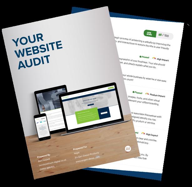 Website Audit Front Cover